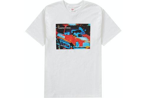 Supreme x Yohji Yamamoto Game Over Tshirt White