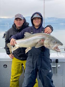 19 pound Lake Trout