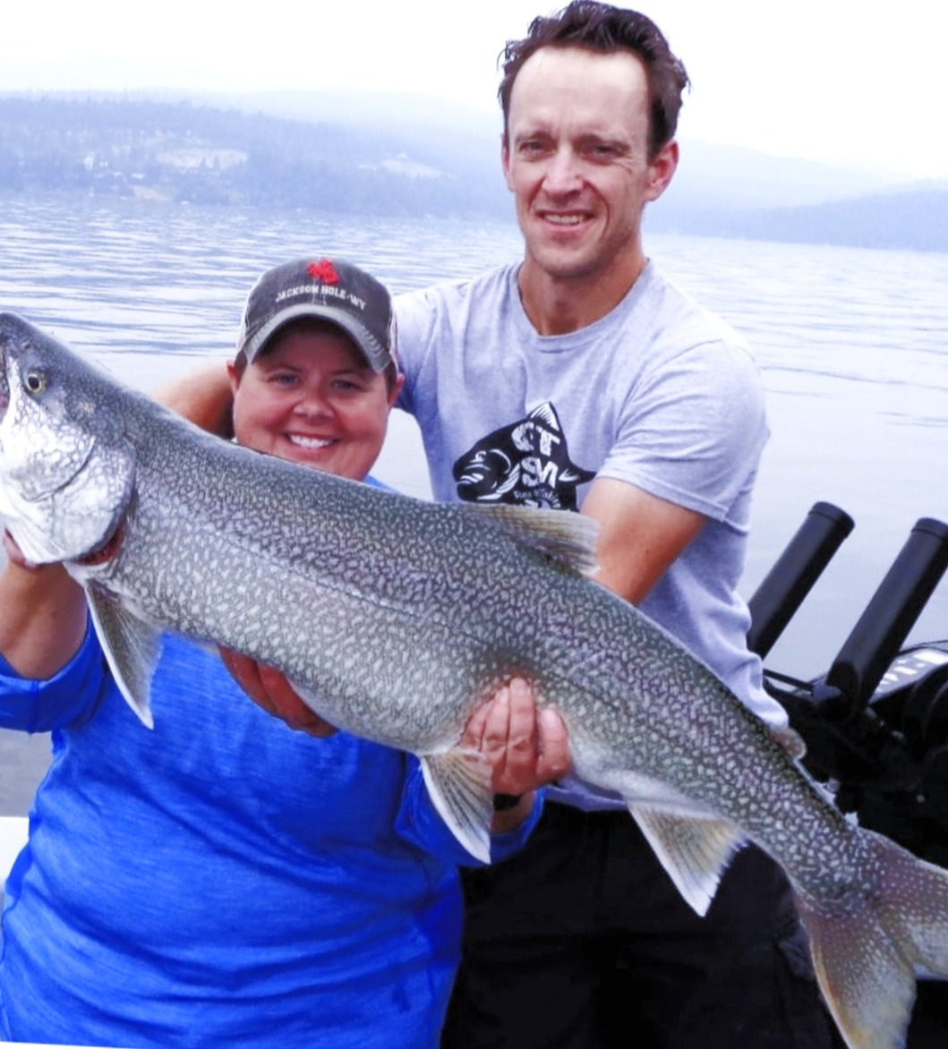 18 lb. Mack on Flathead Lake