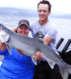 18 lb. Mack on Flathead Lake