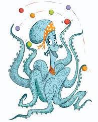 Izzie the Octopus
