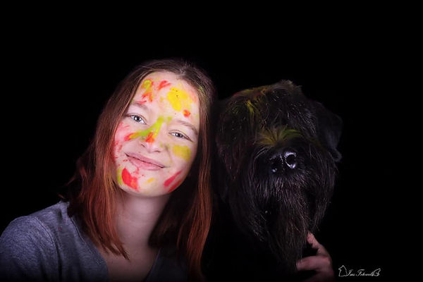 Fotograf, Tierfotograf, Hundefotograf, Pferdefotograf, Fotoshooting mit Pferd, Fotoshooting mit Hund, Riesenschnauzer, Rheinland-Pfalz