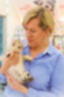 Elaine fouz manager noble vet cat dog.jp