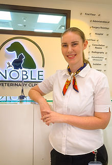 Tessa venter noble veterinary clinic nob