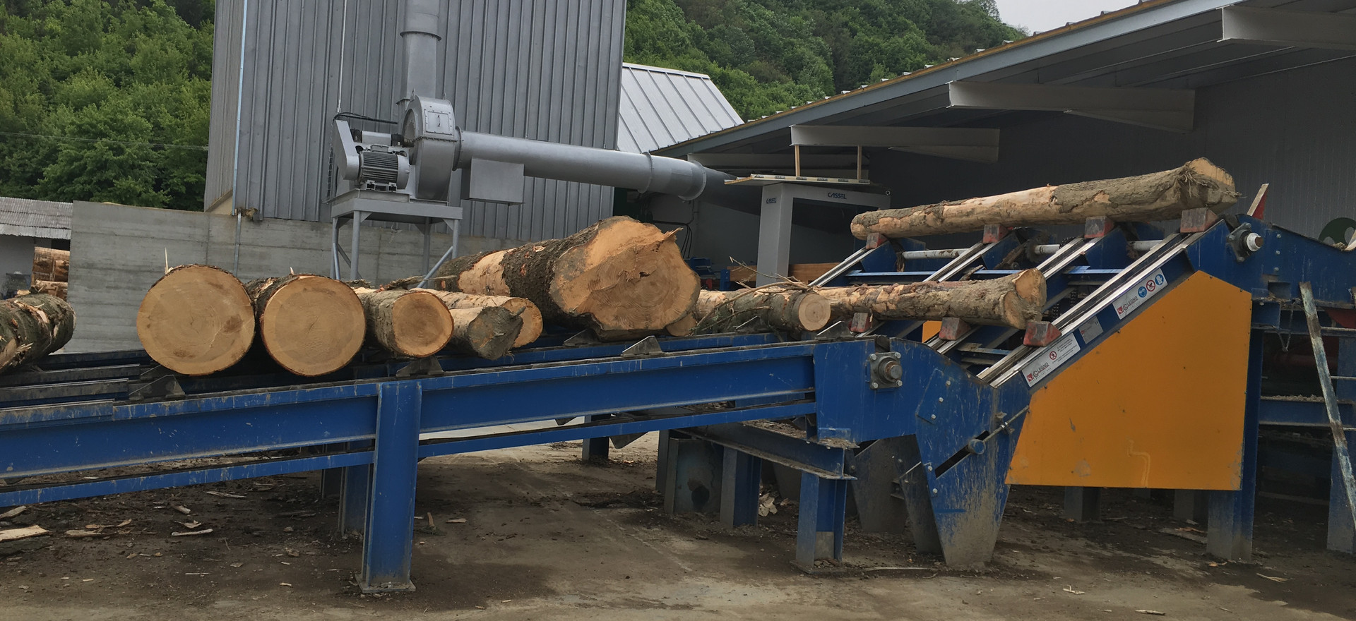 log loader and singler