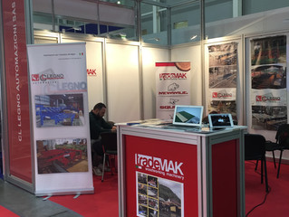 We waiting for you at our next event! Woodex -Moscow 2017