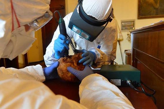 Giovedì faccia a faccia con san Teobaldo. L'università di Padova ha realizzato la ricostruzione facciale forense del Santo