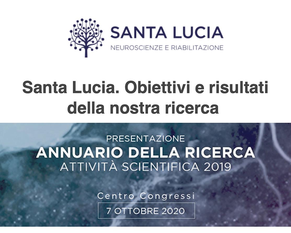 Santa Lucia. Obiettivi e risultati della nostra ricerca
