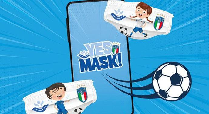 Yes Mask, la campagna Instagram anti-covid di FIGC e Bambino Gesu'