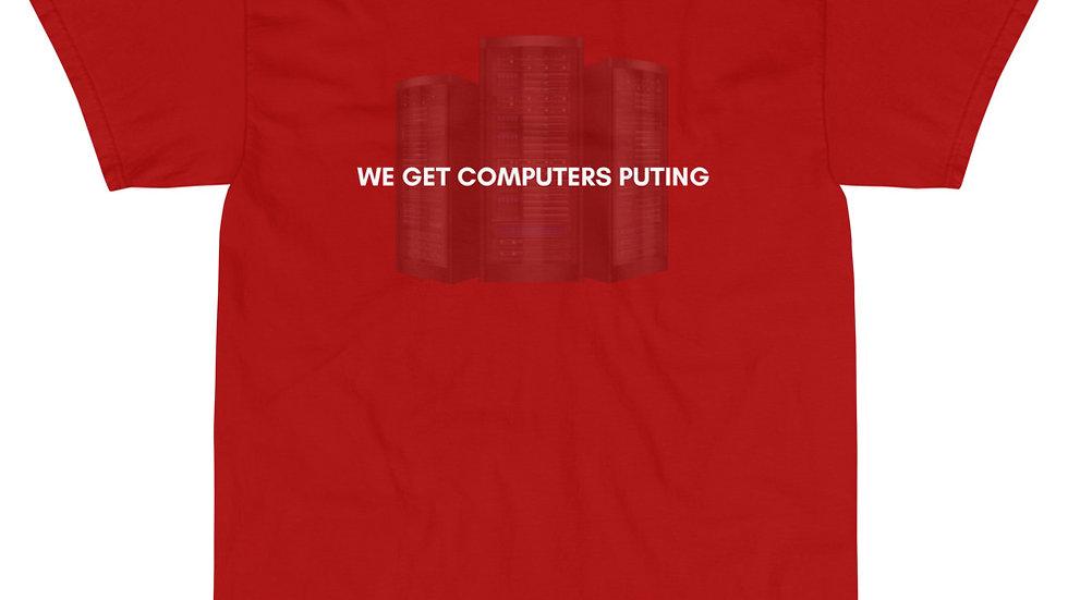 """COMPUTERS PUTING"" - MTB Communications - Season 1 Premium T-Shirt"