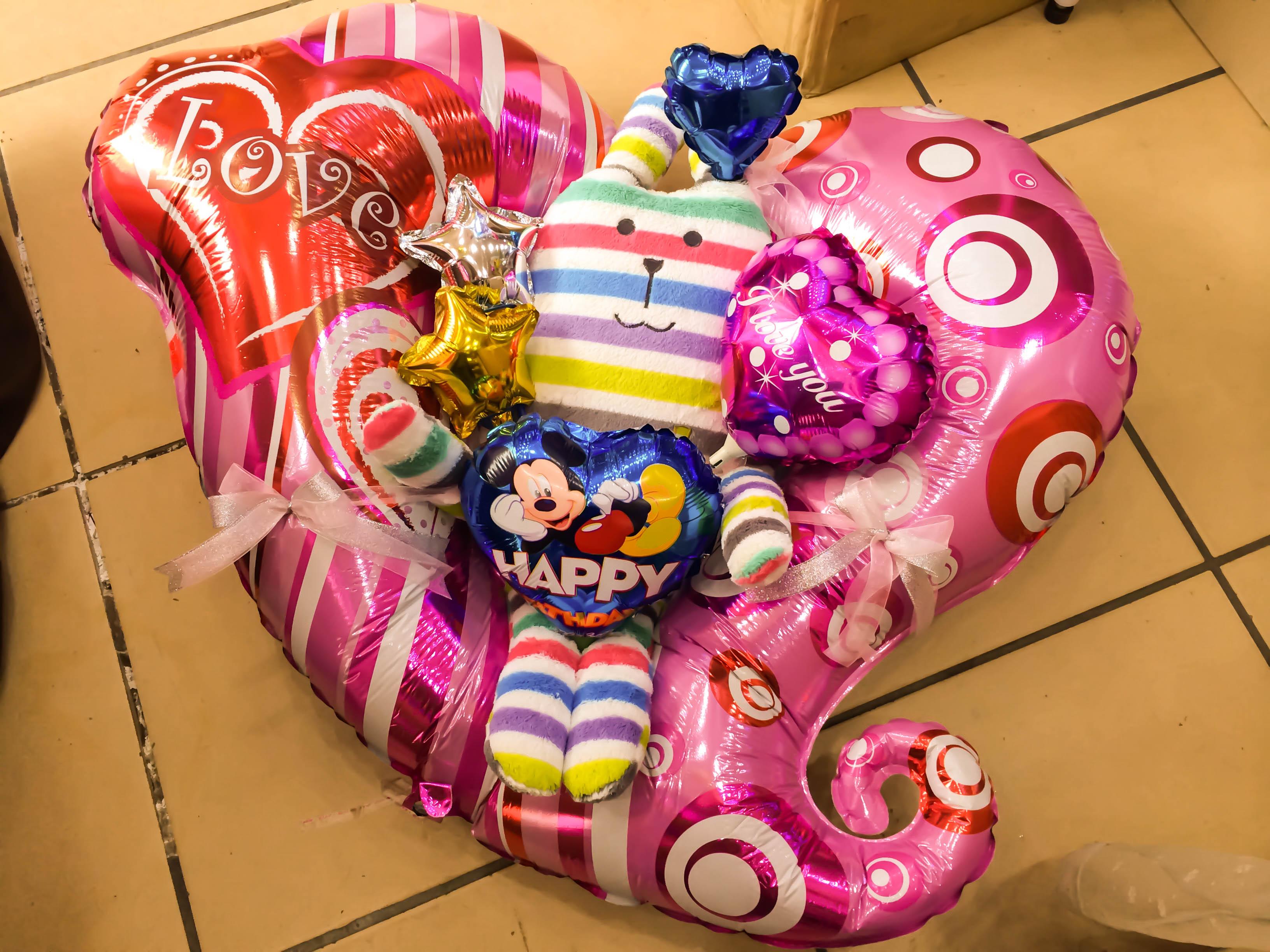 2.氣球禮物 3