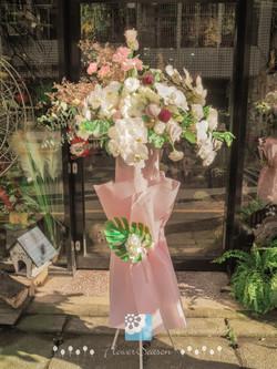 花束花藝設計畢業求婚告白玩具總動員模型公仔乾燥花手做課程