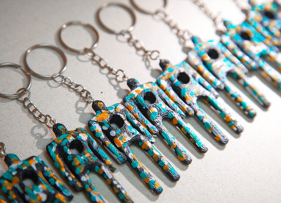 TEAL EDITION KEY CHAIN