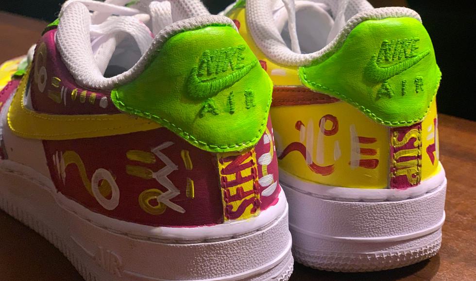 Custom Painted Sneakers
