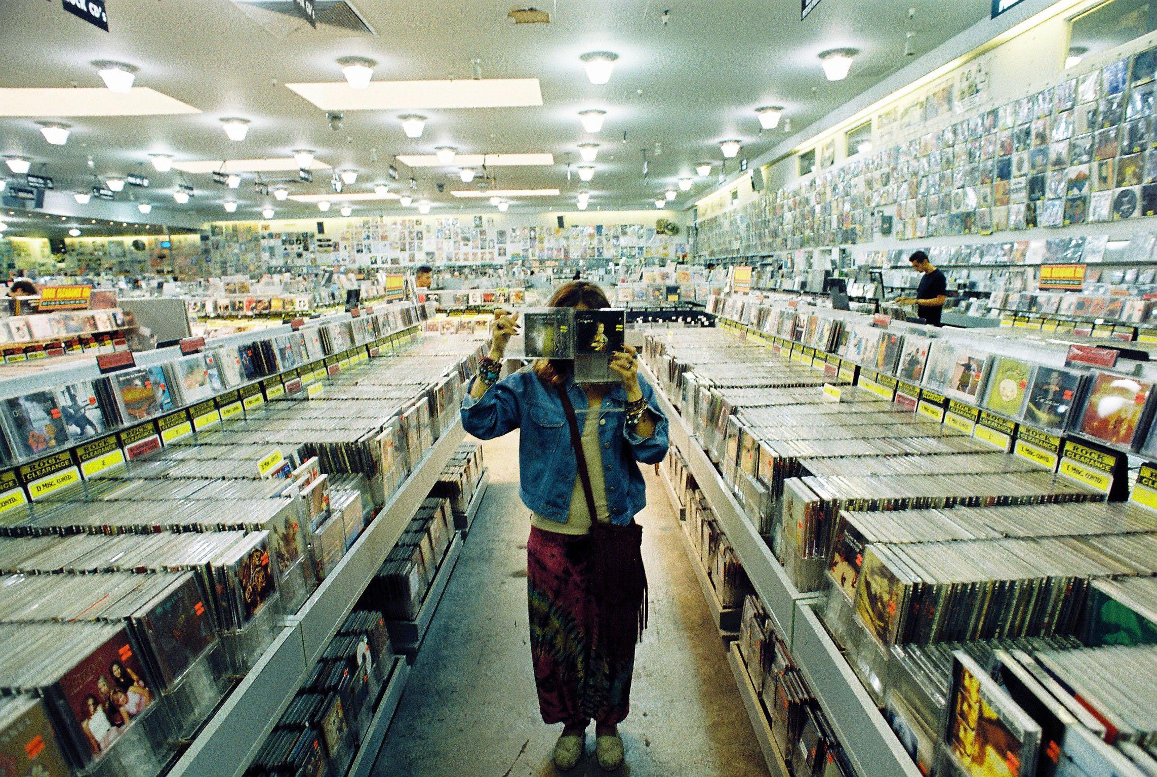 Amoeba Music, SF