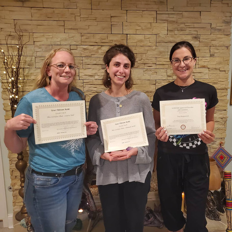 CONGRATULATIONS to our newest Usui Tibetan Reiki Level 2 Practitioners!!!