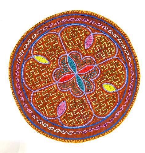 AC24.5 Hand Embroidered Meditation Circle