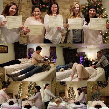 Congratulations to our newest Reiki Level 2 Practitioners!: Teresa Mariscal, Shannon Rich, Bethany J