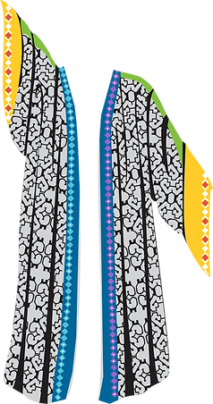 Shaman Cloth - Part of Quantum Light Healing Logo - created by Bojan Maksimovic