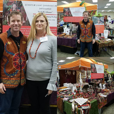 Thank you to everyone who came out to see me at the iiEnergyWorks Metaphysical and Psychic Fair in C