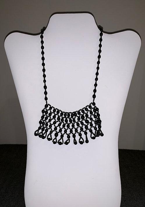 JN19 Beaded Mancian Necklace