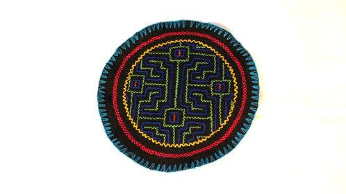 "AC6.6 Hand Embroidered Meditation Circle 6"""