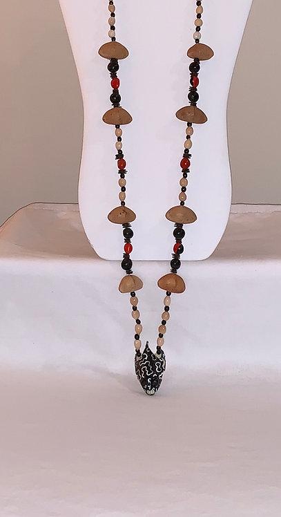JN5 Serpent Head Necklace
