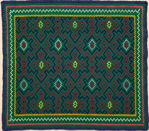 """AA21 Song Pattern Altar Cloth 14.75"""" X 13.5"""""""