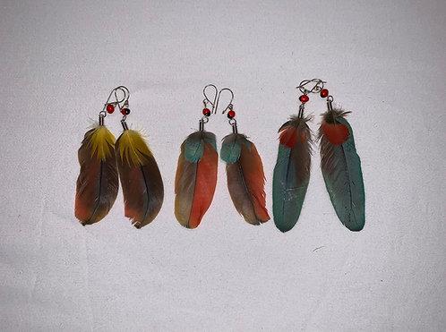 JE11 Feather Earring