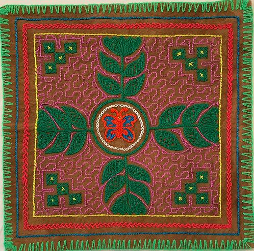 """AA50 Flower Altar Cloth 13.5"""" X 13.5"""""""