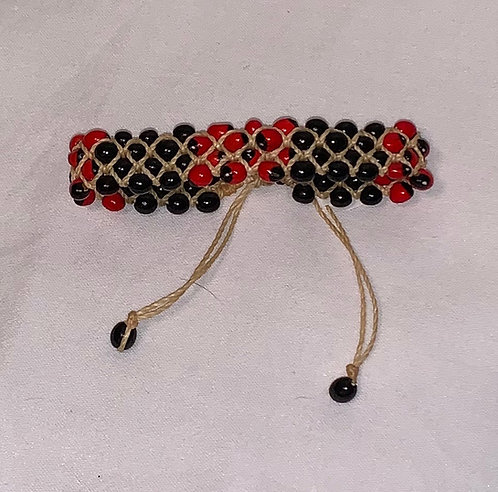 JB62 Mancian and Huayruro String Bracelet