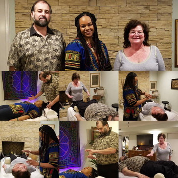 CONGRATULAIONS to our newest Quantum Light Healing™ Practitioners!: Christopher Holden, Shorntai Pat