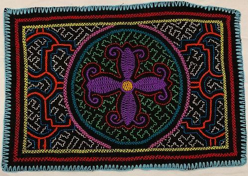 """AA62 Flower Altar Cloth 12"""" X 8.5"""""""