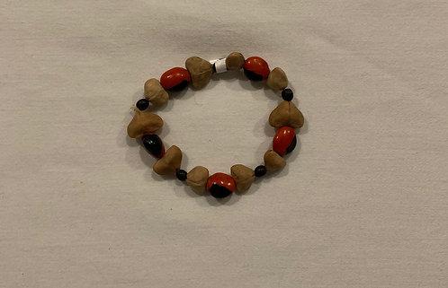 JB6 Huayruro, Mancian, and Seed Bracelet