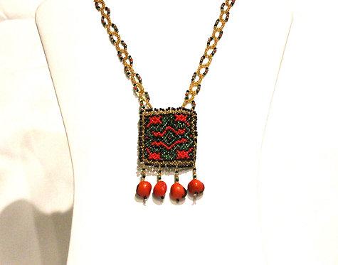 JN67.4 Beaded Necklace