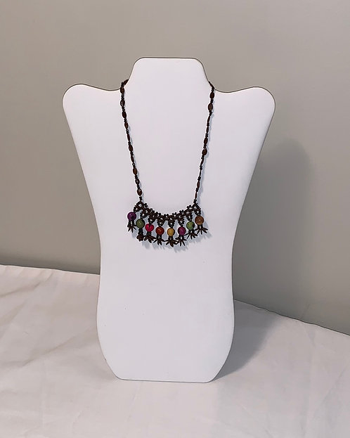 JN62 Shell and Seed Necklace