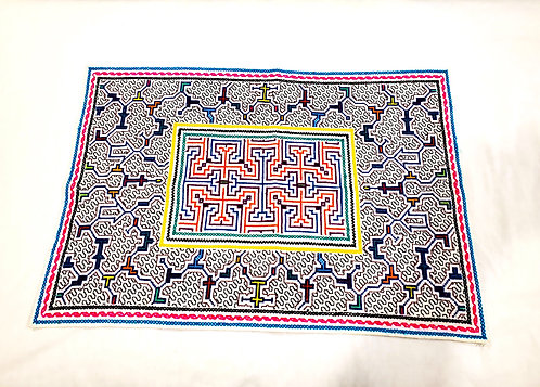 """AA83 Large Embroidered Altar Cloth 25"""" x 17.5"""""""