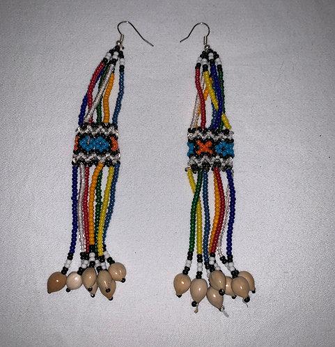 JE1 Beaded Earrings