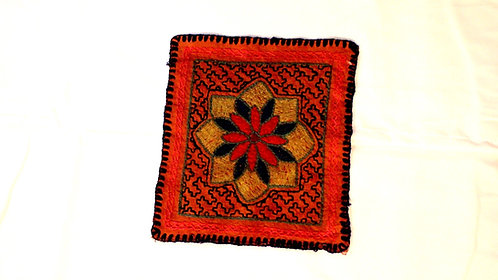 """R23 Small Ayahuasca Flower Textile 6.5"""" x 7"""""""
