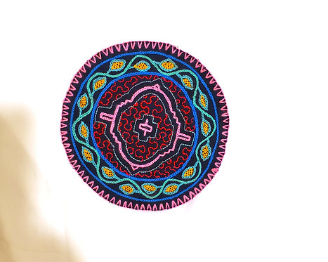 AC5.40 Hand Embroidered Meditation Circle 5.5""