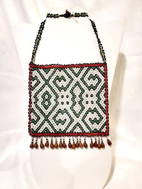 JN94.5 Tribal Beaded Breastplate/Necklace