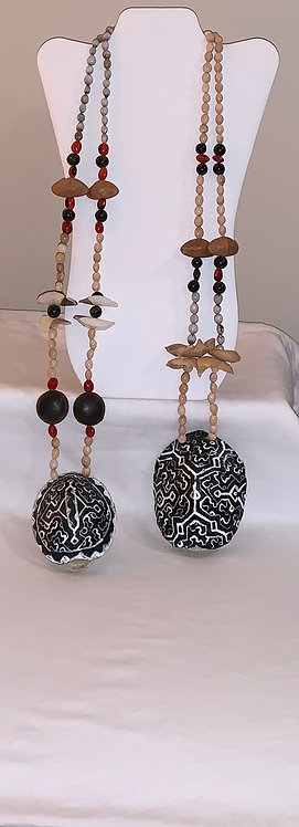 JN57 Turtle Shell Necklace