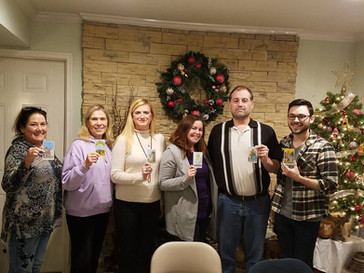 Congratulations to our newest Tarot readers! : Shannon Rich, Mary Glesige, Janet McCormick, Teresa M