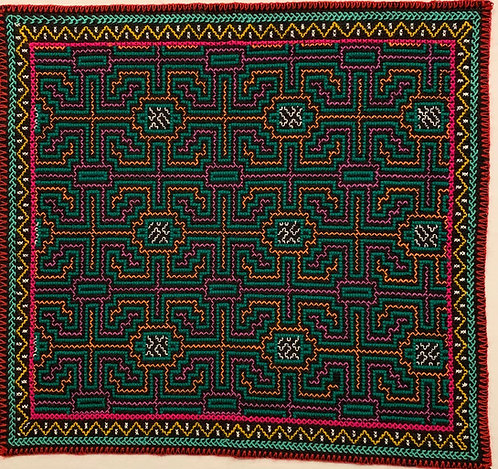 """AA20 Song Pattern Altar Cloth 16"""" X 15"""""""