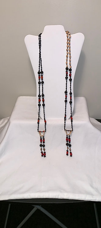 JN13 Painted Serpent Spine Necklace