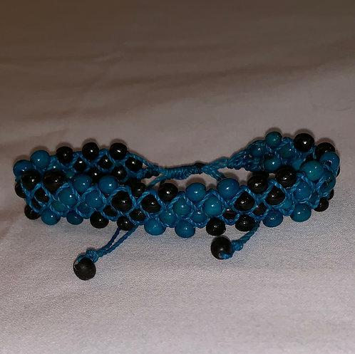 JB55 Mancian Blue String Bracelet