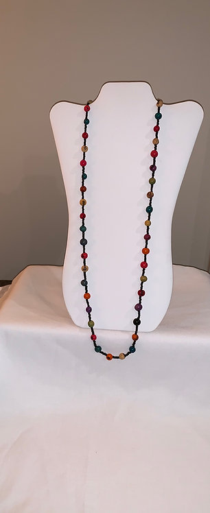 JN31 Multi Color Seed Necklace