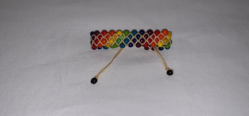 JB58 Rainbow String Bracelet