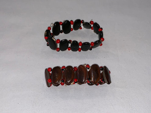 Huayruro and Seed Bracelet