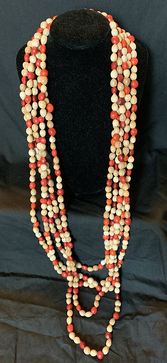 JN92 Seed Layering Necklace